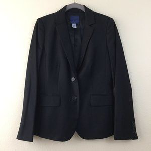 J. Crew blue label Super 120's wool blazer luxe